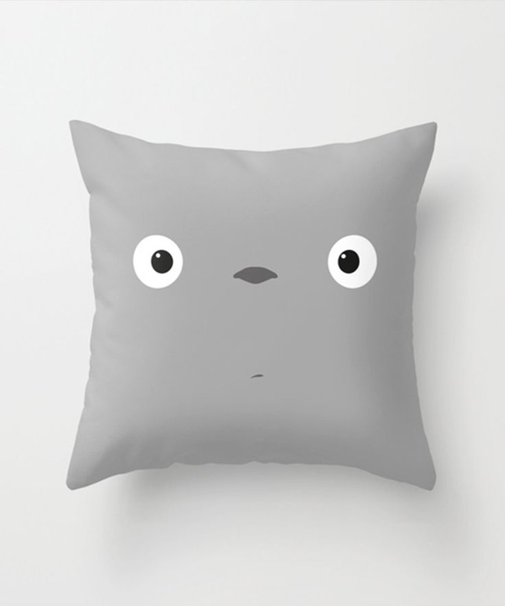 Wake Up Totoro Pillow - Totoro's Block Party Collection - Dot & Bo