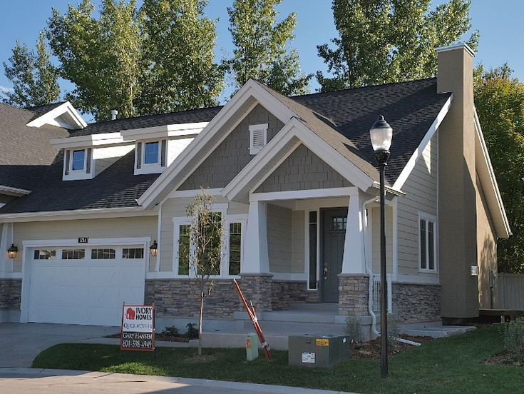 Favorite House Colors- Image detail for -Millcreek Craftsman home design for new…
