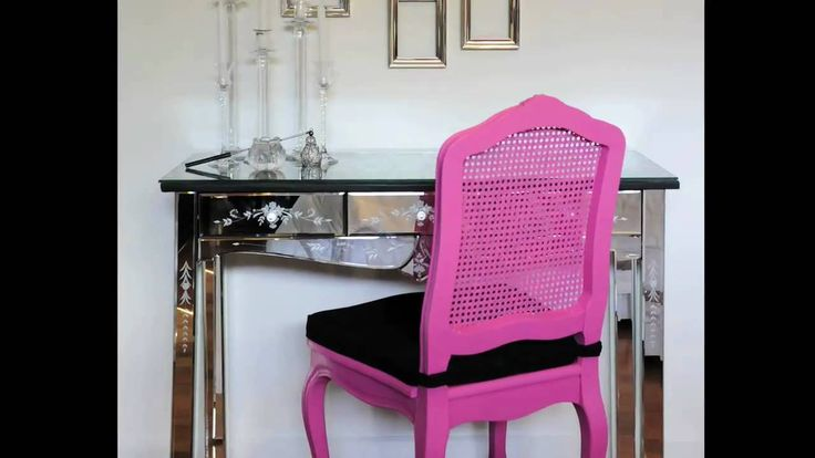 How To: Glamour Bedroom Makeover on a Budget | I love all the ideas here, especially the custom glass table tops. May have to steal!