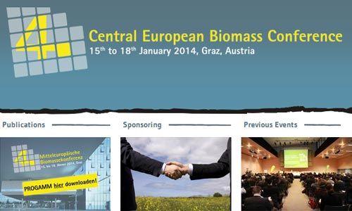 4th Central European Biomass Conference 15 Jan 2014, Graz, Austria