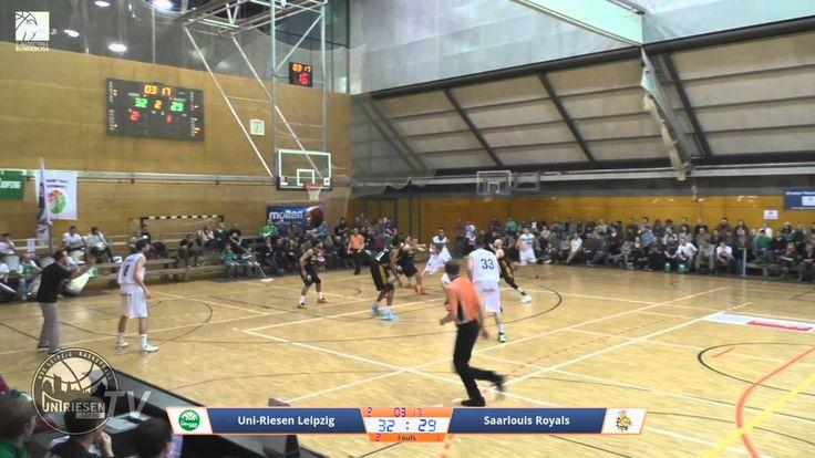 Highlights mit Alley-oop! - Uni-Riesen Leipzig vs. #Saarlouis Royals 30.01.2016  #Saarland 17. Spieltag 2. Basketball-Bundesliga ProB Sued - Endstand: 77:73 #Saarlouis #Saarland http://saar.city/?p=24036