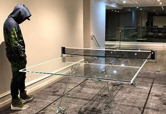 News sport entertainment: Floyd Mayweather shows off his N10 million crystal...