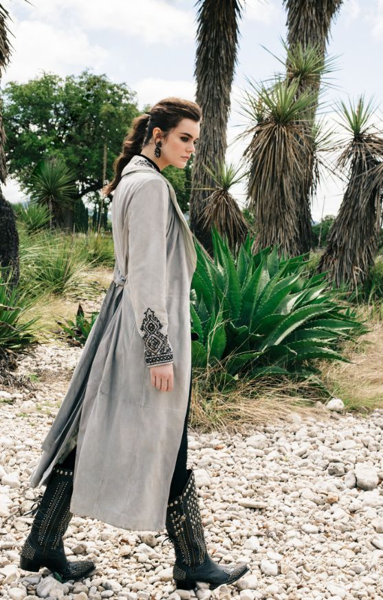 Double D Ranch Fall 2016 Damaso Perez Duster http://www.cowgirlkim.com/double-d-ranch-fall-2016-damaso-perez-duster.html