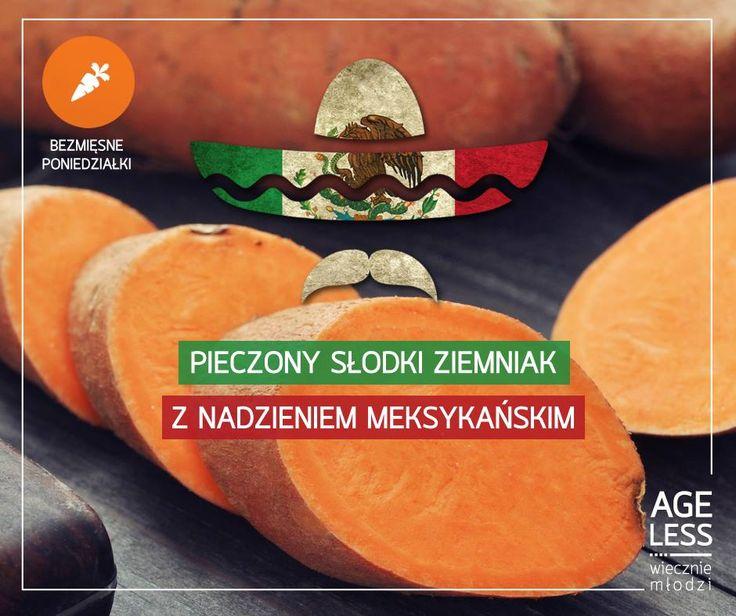 """W ramach cyklu """"Bezmięsne poniedziałki"""" promującego #wiecznąmłodość, zapraszamy do wypróbowania nowego przepisu - coś dla każdego, nie tylko dla miłośników meksykańskiej kuchni :) -> http://bit.ly/1Ap6kmU  #ageless www.ageless.pl #wieczniemlodzi #wiecznamlodosc #meksyk #meatlessmonday #ziemniak"""