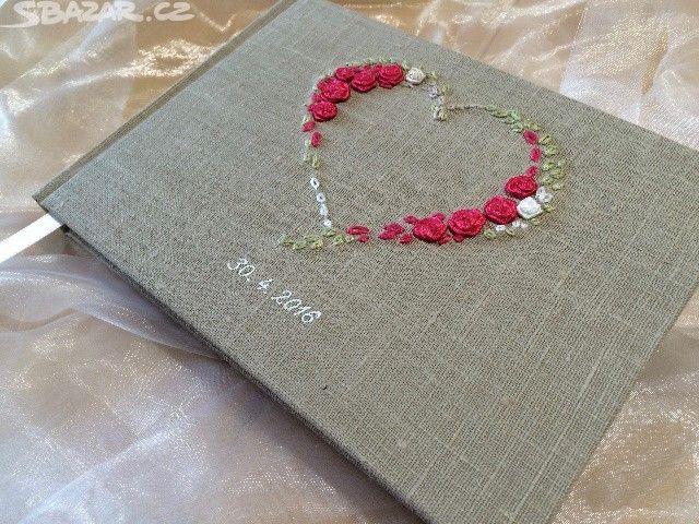 Svatební kniha - knižní vazba. Formát A5. - obrázek číslo 1