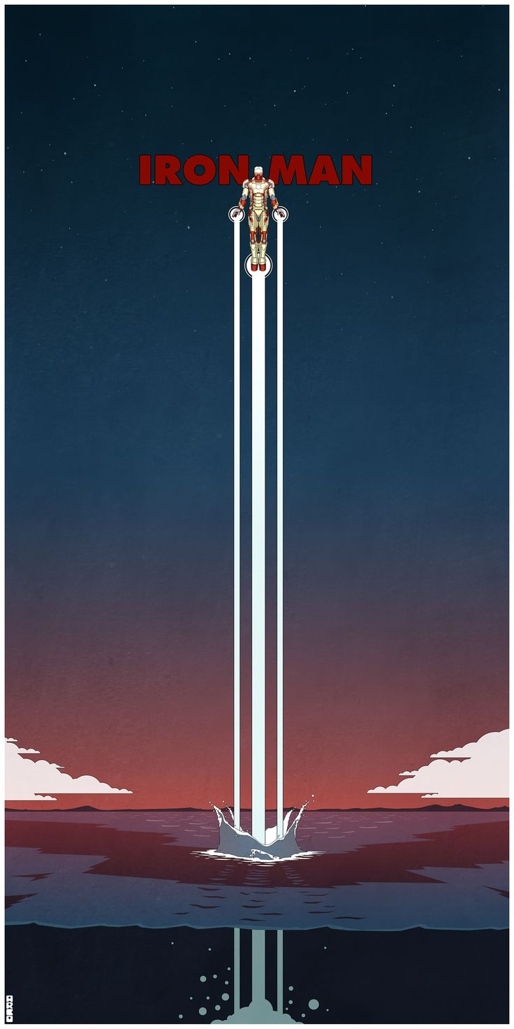 Badass IRON MAN 3 Poster Art by Matt Ferguson - News - GeekTyrant