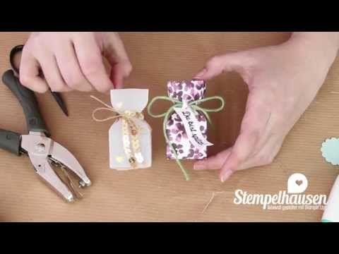 Tutorial: Goodies-Tütchen mit dem Envelope Punchboard (EPB) - YouTube