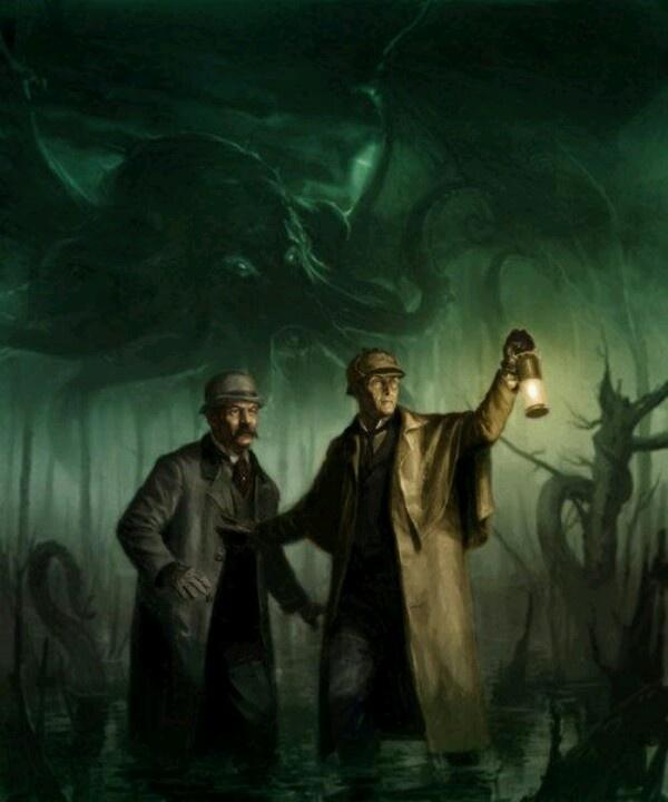 Shub Niggurath Goat Sherlock Holmes and Th...