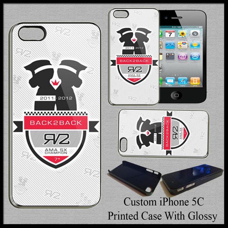 New Hard Case Cover For iPhone 5C Ryan Villopoto MotoCross SuperCross Champion