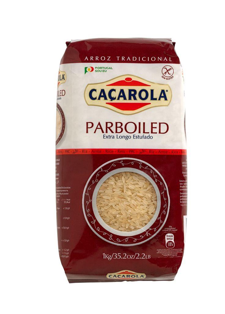 O vaporizado!! O Arroz Estufado é saboroso, altamente nutritivo e garante os melhores resultados, mantendo-se sempre solto e sem goma.