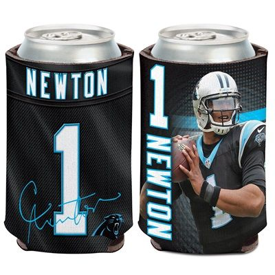 Carolina Panthers Cam Newton Can Cooler: Carolina Panthers Cam Newton Can Cooler Celebrate your favourite team with this officially…