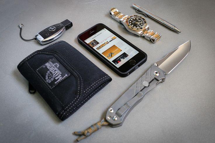 Chris Reeve Umnumzaan Knife iPhone 5S Rolex GMT II Maxpedition CMC wallet Matthew Martin Mini Click Pen: Titanium  Video Editor in France  [[MORE]]