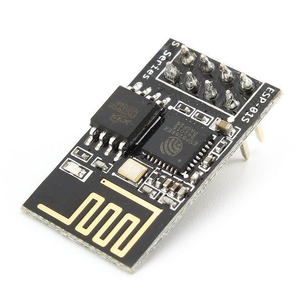 5Pcs ESP8266 ESP-01S Remote Serial Port WIFI Transceiver Wireless Module