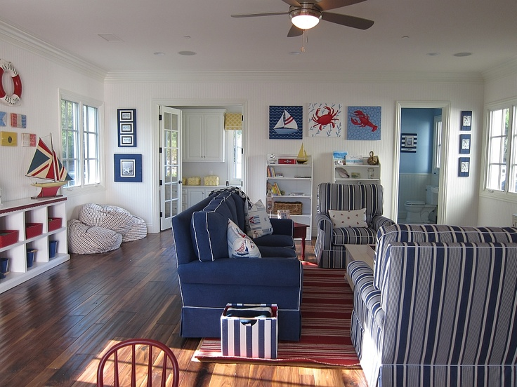 Nautical Playroom 2