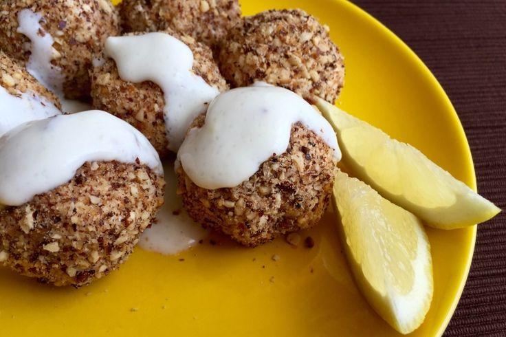 Glutén-és laktózmentes túrógombóc mogyorós bundában #túró #turogomboc #glutenmentes #laktozmentes #mogyoro #egeszseges #recept