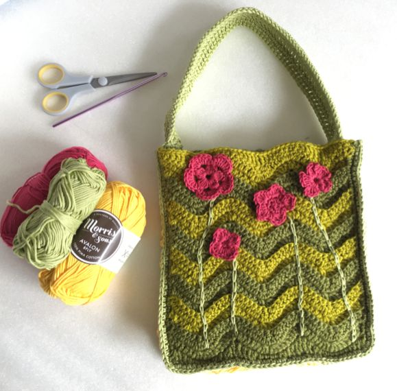 Love this cute bag from Crate Crochet Subscription Boxes!! xx
