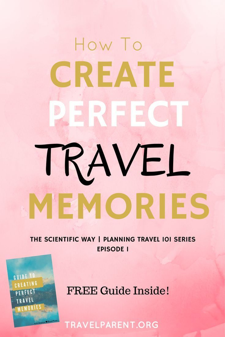 How to Create Perfect Travel Memories- THE SCIENTIFIC WAY | Panning Travel 101 Series Episode #1