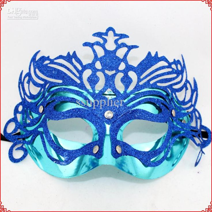 случайный цвет сторона цветок маска маскарад маска венецианский бал-маскарад