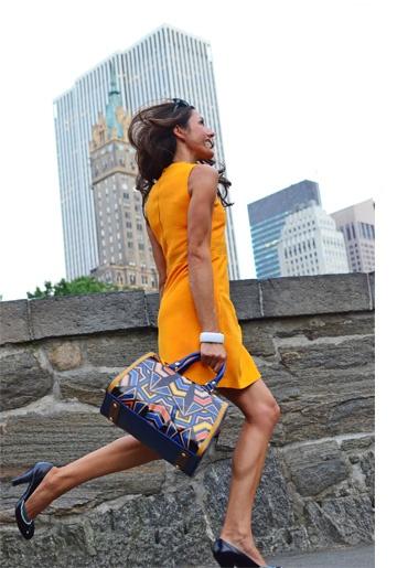 Perfect Dress, Perfect Bag!