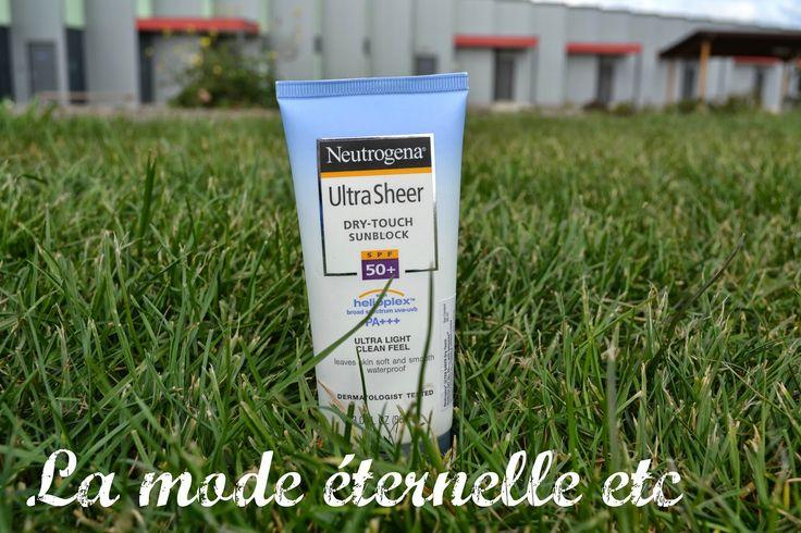 Neutrogena Ultra Sheer Dry Touch Sunblock SPF50+ with Helioplex
