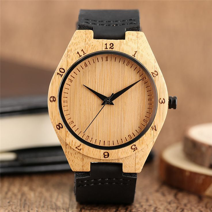 >> Click to Buy << Mens Wooden Watches 100% Nature Bamboo Wood Quartz-watch Nestest Handmade Genuine Leather Band Wrist Watch Bangle Gifts Relogios #Affiliate Sale! Up to 75% OFF! Shot at Stylizio for women's and men's designer handbags, luxury sunglasses, watches, jewelry, purses, wallets, clothes, underwear & more!