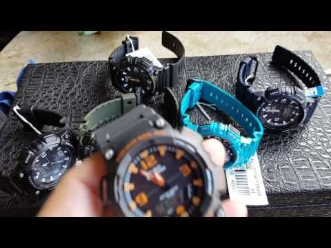 Fingers crossed but I'm hoping you'll love this: Relógio Casio Tough Solar 5 alarmes Varias Cores Aq s810w https://youtube.com/watch?v=QY1UXJ4IfgA