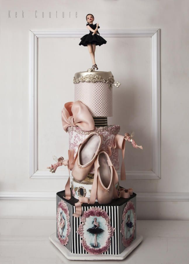Ballerina - Cake by Kek Couture