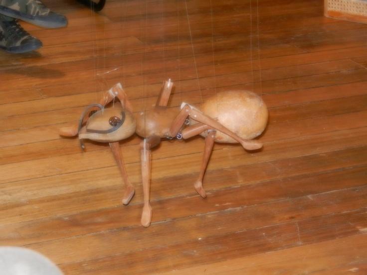 Antsy fancy marionette