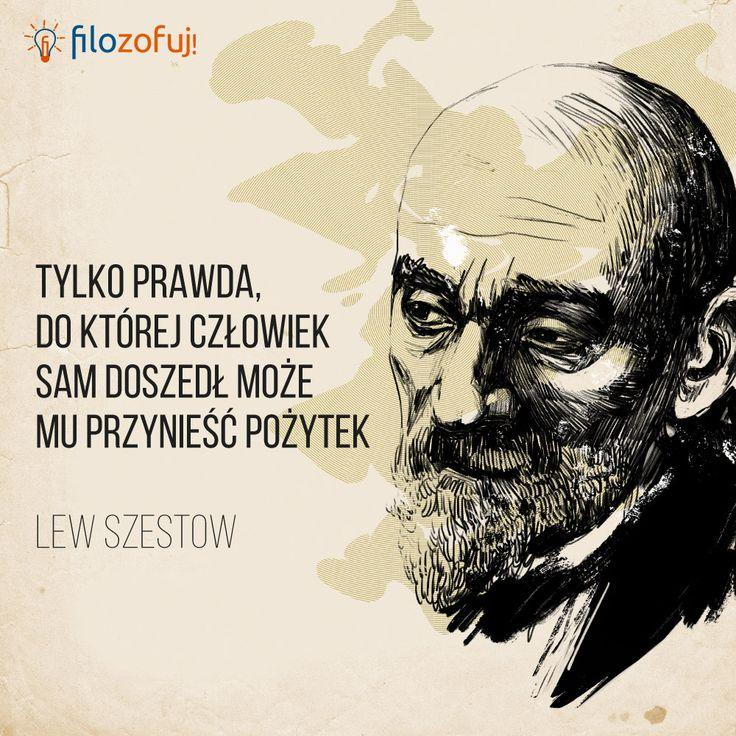 Galeria cytatów #5: Lew Szestow o prawdzie - Filozofuj