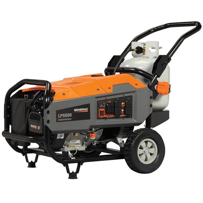 Generac LP5500 Portable Propane Generator Giveaway -- Propane allows for modern, independent living when natural gas is unavailable. This is an awesome prize!! #BuildWithPropane #ad