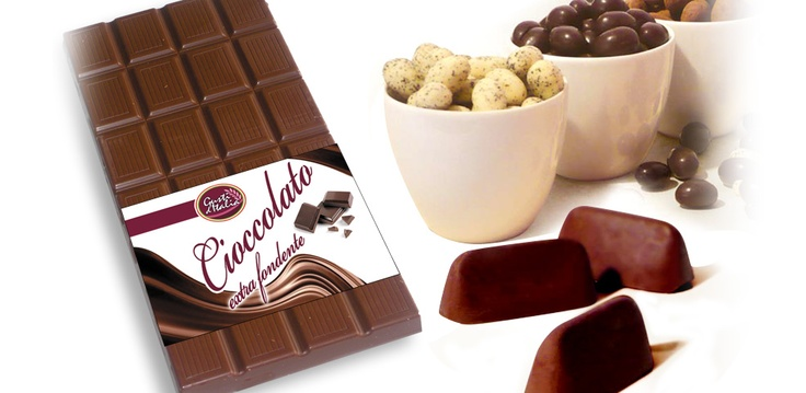 Chocolate and gianduiotti, made in Torino, capital of chocolate in Italy