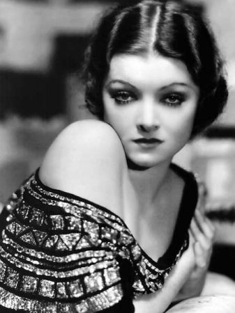 Myrna LoyKnown in her time as 'The First Lady of Film', Loy came to embody the perfect wife — sympathetic, wise and sexy (Manhattan Melodrama, The Thin Man). With her almond-shaped eyes, tilted-up nose, and ladylike but wry and relaxed manner, Loy was one of Hollywood's most popular actresses of the 1930s.