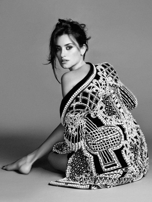 Penélope Cruz photographed by Nico for the Spanish magazine El País Semanal, 2012