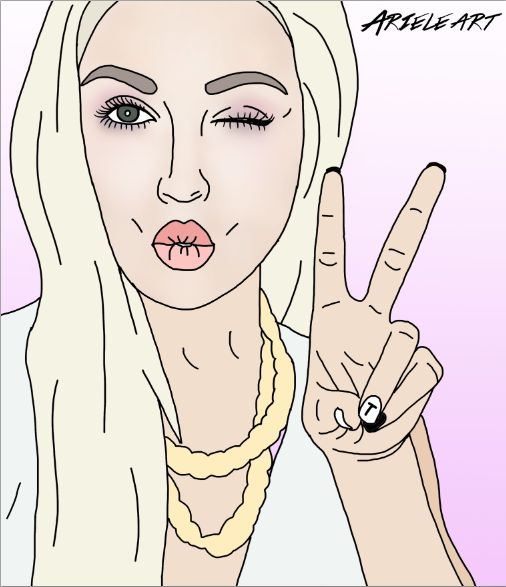 Digital fan art of Shannon Harris from Shaaanxo on youtube! I drew this in photoshop using an electronic pen and pad :) Ask me if you want one drawn of someone!