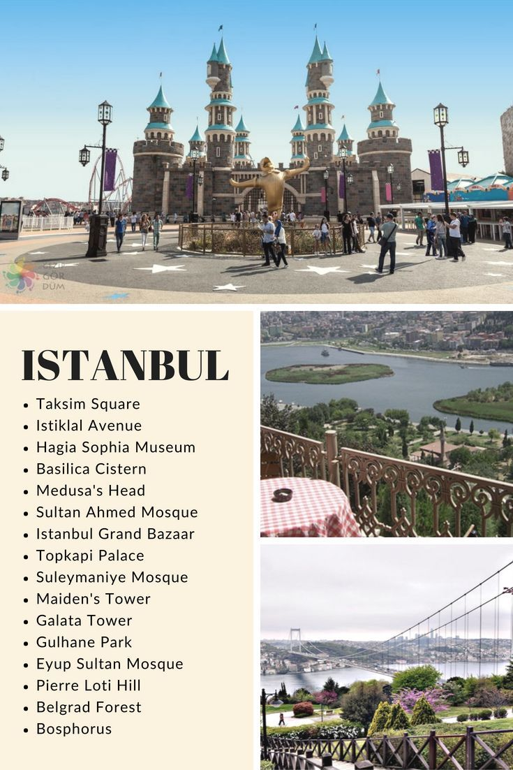 The most beautiful places to visit in Istanbul – #…