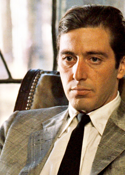 "Al Pacino as Michael Corleone ""The Godfather"""