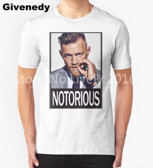 Conor Mcgregor MMA Mens & Womens Short Sleeve O-Neck Printing T Shirt  #Affiliate