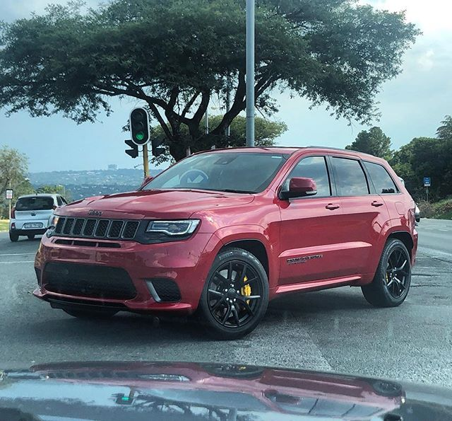 Jeep Grand Cherokee Trackhawk Out In The Wild Nice Spot By