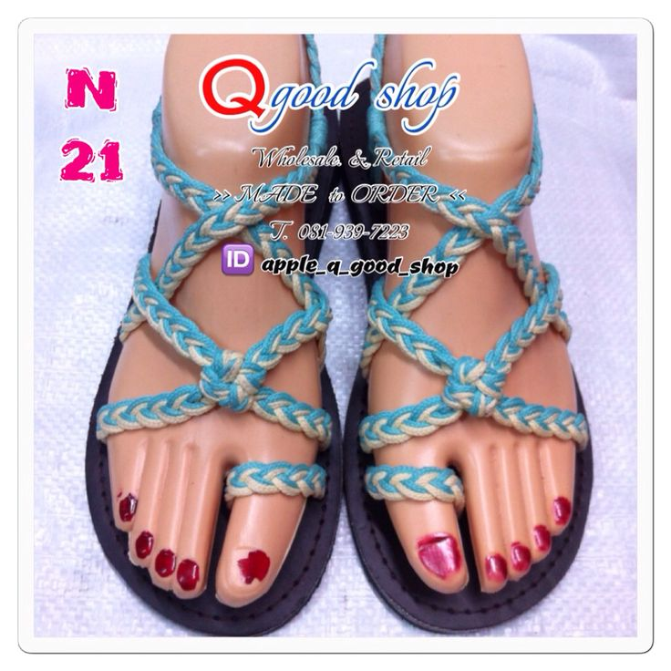 Wholesale & Retaile Make to order Sandal shoes >> hand make Thailand T. 081-939-7223 ID apple_q_good_shop