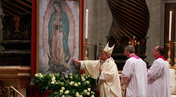 [TEXTO COMPLETO] Homilía del Papa Francisco en la Misa por la Virgen de Guadalupe https://www.aciprensa.com/noticias/texto-completo-homilia-del-papa-francisco-en-la-misa-por-la-virgen-de-guadalupe-72071/