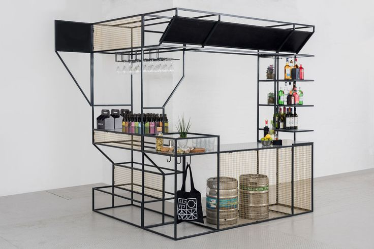 Architecture Bar is a portable metal structure designed to support a number of events during the Year of Architecture Innovation and Design, in particular the Glasgow Institute of Architects' 'Architect IPA