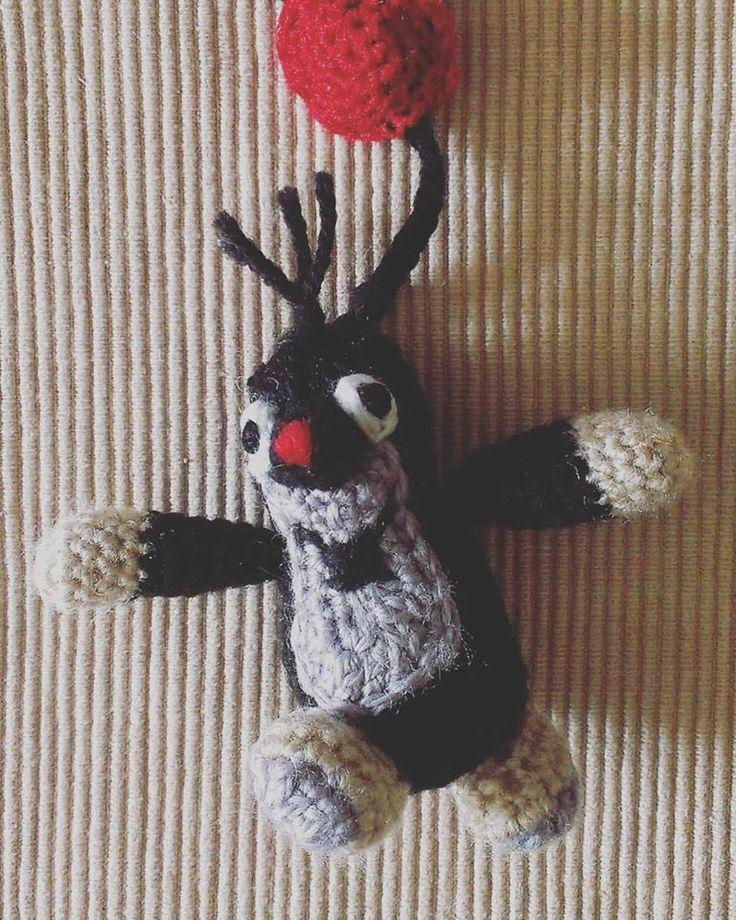 KRECIK crochet pendant :)