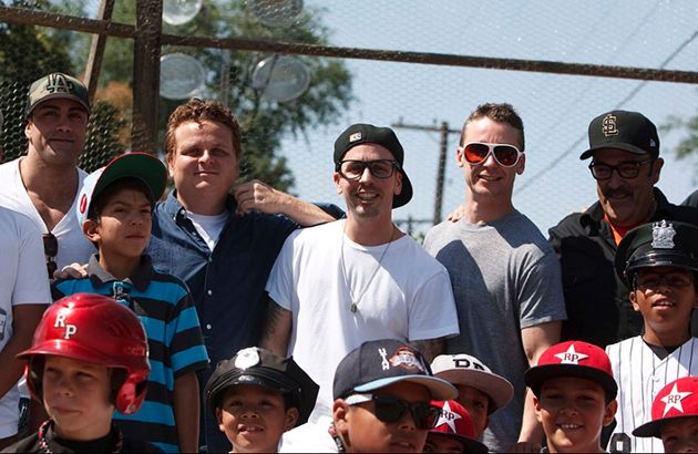 Pictures of Sandlot cast 20 years later at the actual sandlot!