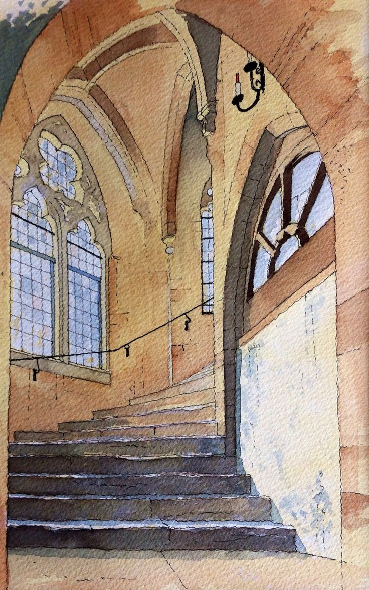 Cathedral Steps ~ John Edwards