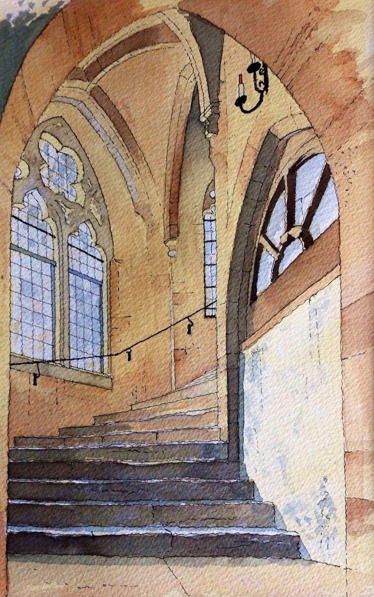 Cathedral Steps ~ John Edwards