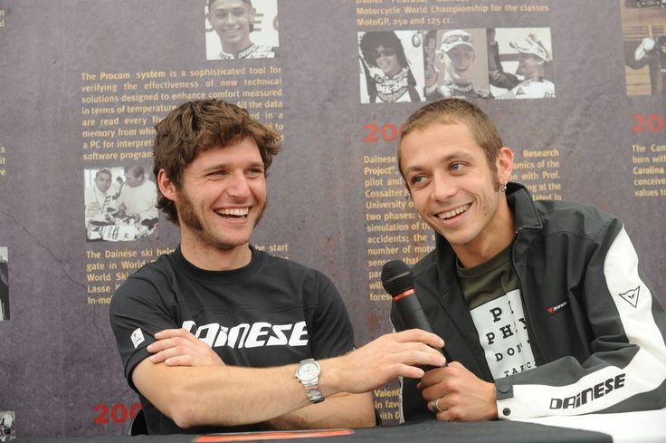 Guy Martin & Valentino Rossi My two favourite racers in the world