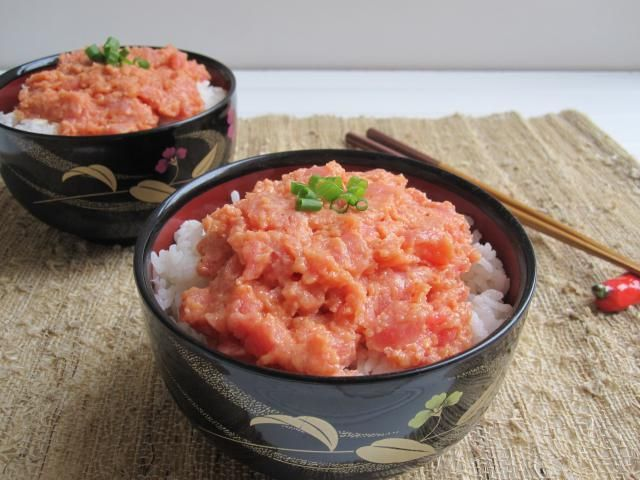 Spice Up Dinner with this Easy Spicy Tuna Donburi (Rice Bowl): Spicy Tuna Donburi (Rice Bowl)