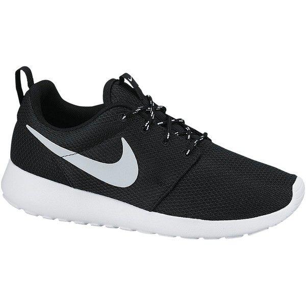Nike Roshe Run Women's Trainers , Black found on Polyvore