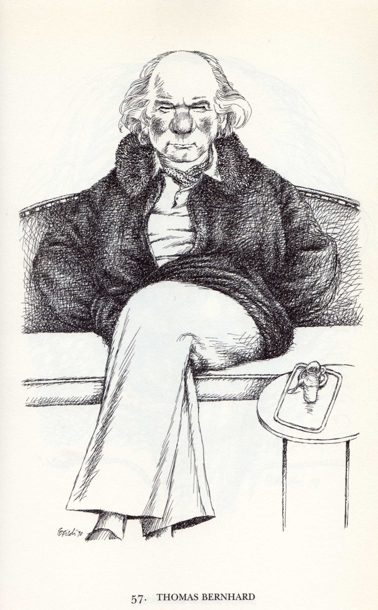 Tullio Pericoli  Thomas Bernhard