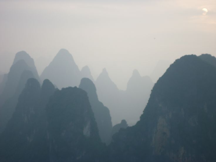 Visiting Yangshuo County, China